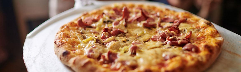 Pizza Baked Cheese Restaurant Kitchen Italian